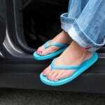 Ford определил самую безопасную обувь для водителей