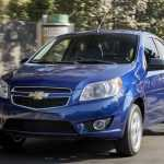 Производитель обновил седан Chevrolet Aveo