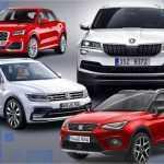 Новые внедорожники на платформе MQB от Volkswagen Group