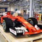 Гоночный болид команды Ferrari собрали из Lego