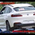 Кроссовер BMW X4 замечен без камуфляжа