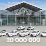 С конвейера сошел 20-миллионный автомобиль Škoda