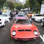 Парад Lamborghini в Японии — дождь не помеха!