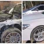 Смотрите как восстанавливают после аварии BMW 7-серии