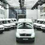 Volkswagen начал тестовые испытания электрофургона Crafter