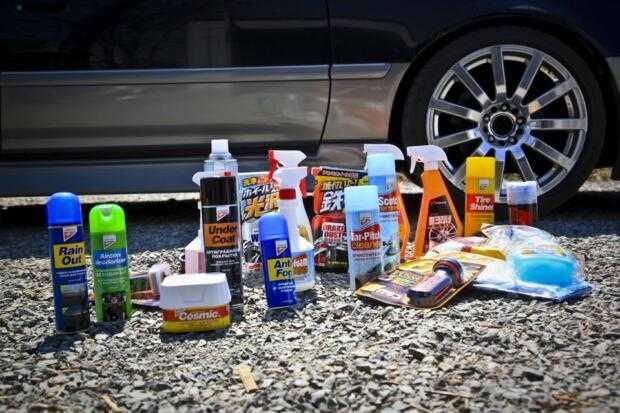 Автохимия продлевает жизнь авто