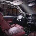 Тюнинг-ателье Vilner переработало интерьер Toyota Land Cruiser