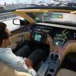 LG и Here «научат» самоуправляемые автомобили общаться между собой