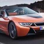 BMW показал обновлённую модель i8 Roadster