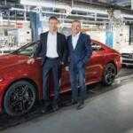 Третье поколение Mercedes-Benz CLS встало на конвейер