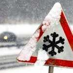 На Украину надвигаются снегопады