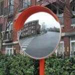 Производство и установка дорожных зеркал