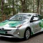 Toyota представила гибридный прототип работающий на биоэтаноле