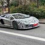Lamborghini Aventador SVJ замечен во время тестов в Европе