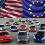 Автомобили из Америки и Европы