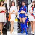 Очень красивые девушки с Tokyo Motor Show 2019