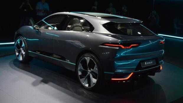 электрокар Jaguar I-Pace