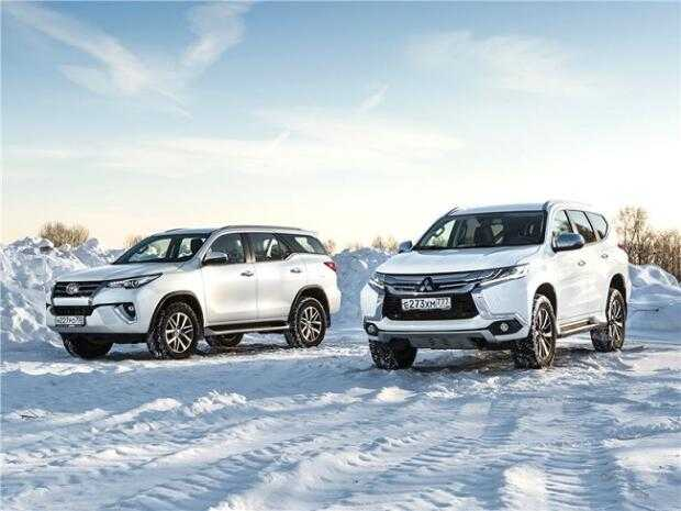 Сравнительный обзор Toyota Land Cruiser Prado и Mitsubishi Pajero Sport
