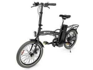 черный электрический велосипед